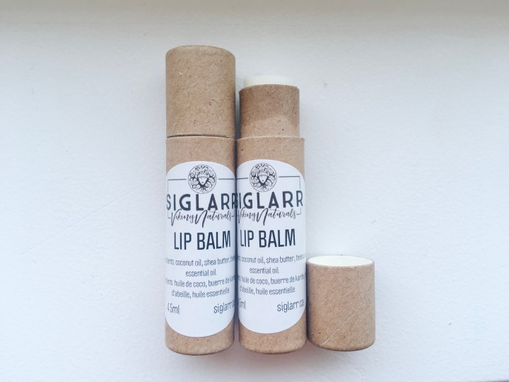 Siglarr Viking Naturals: Lip Balms in Paper Tubes!