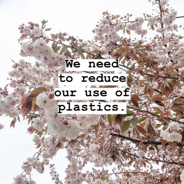Reduce plastic use