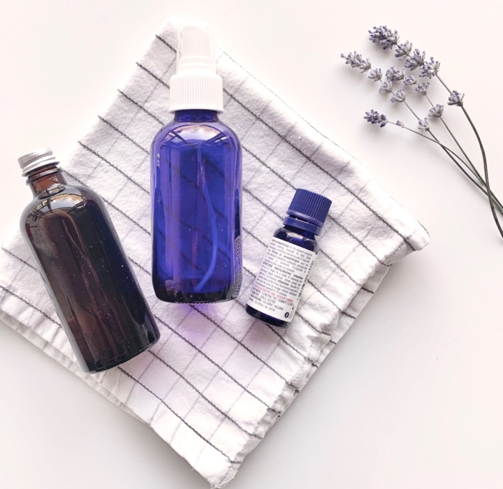 DIY Yoga Mat Cleaner Spray