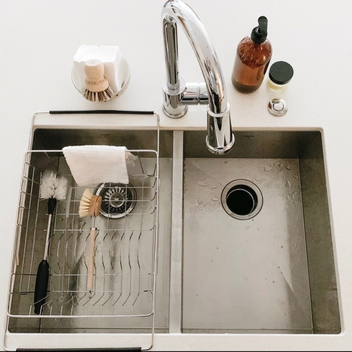 A Zero Waste sink + washing up station